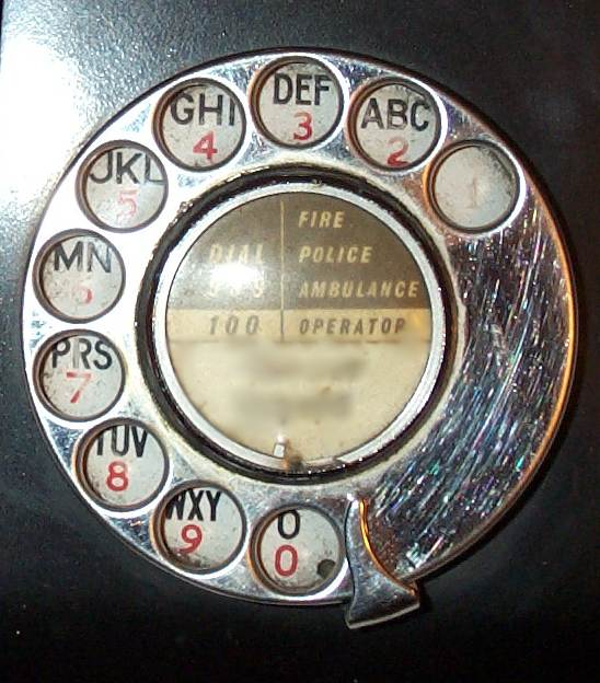 Letters For  On Rotary Phone